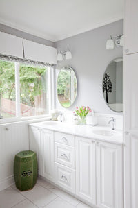 Exciting Corner Double Vanity