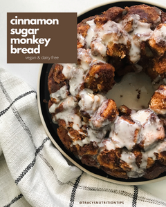 This recipe is inspired by the cinnamon melts I used to eat as a teenager when I worked at McDonald'