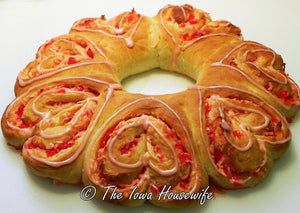 Bread Flour...Seven Hearts Breakfast Ring