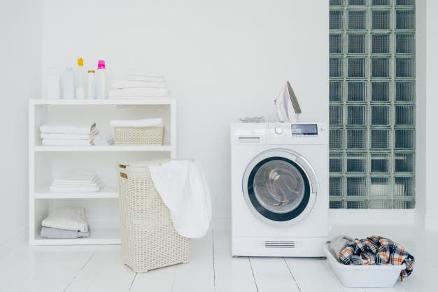 Your laundry room may not be like your bathroom or kitchen, but it can get just as cluttered and messy if left to its own devices