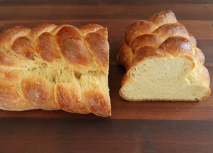 Old-fashioned braided breads like challah are something I knew well growing up with an Eastern European mother