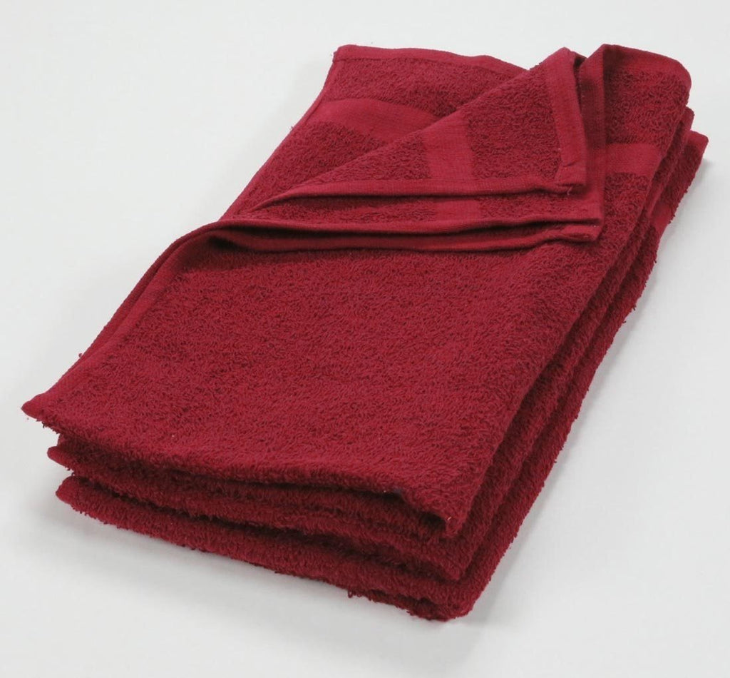 Brilliant Red Hand Towels