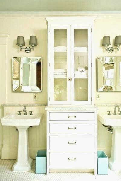 Out Of The Ordinary Pedestal Sink Cabinet