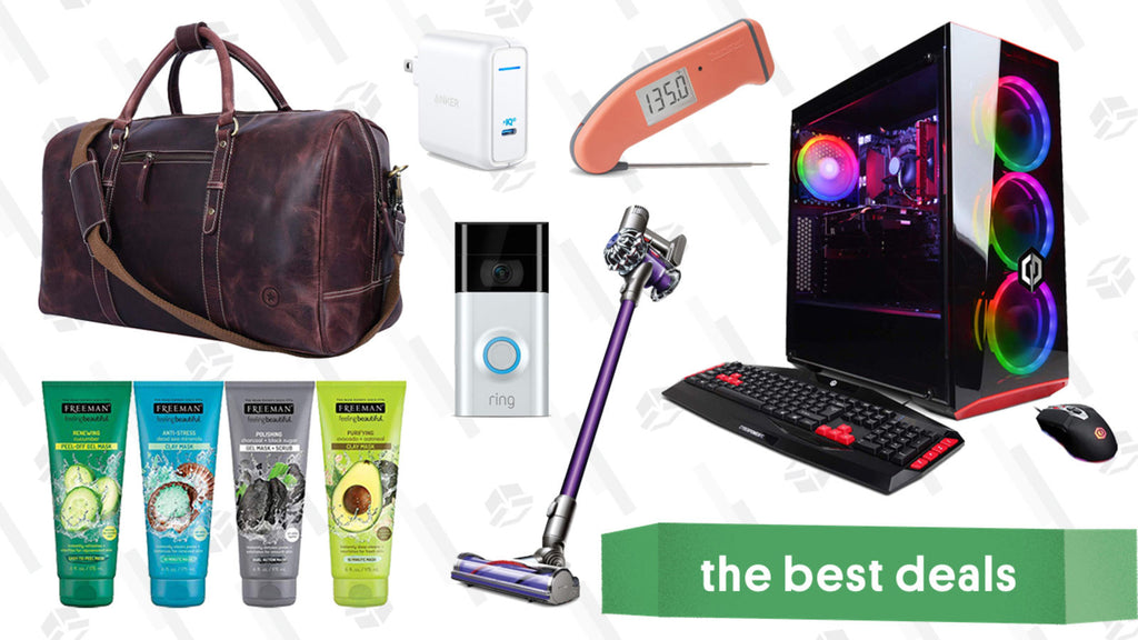 Saturday's Best Deals: Ring Video Doorbell, Breda Watches, Dyson V7 Animal, and More
