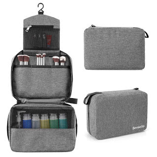 Portable Hanging Travel Toiletry Bag for Only $5.44!!!