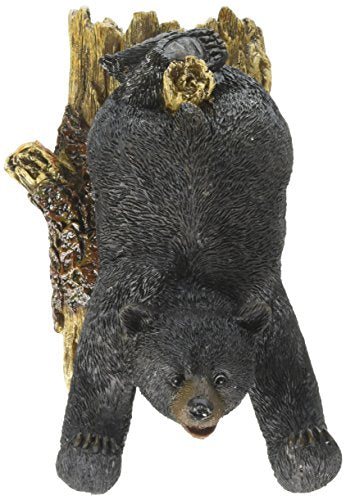 Bear Design Wall Mounted Hook Key Holder Stand Hanger Home Decor Gift (Bear Upside Down)