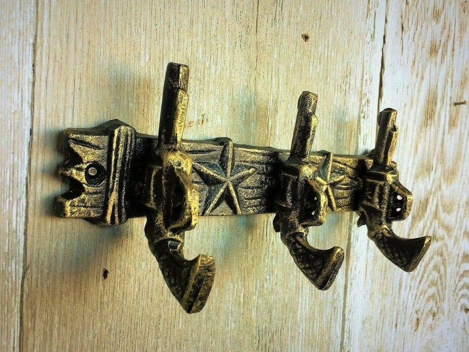 Coat Decor Rack Pistol Gun Hunting Name Towel Hanger ,Hook Wall