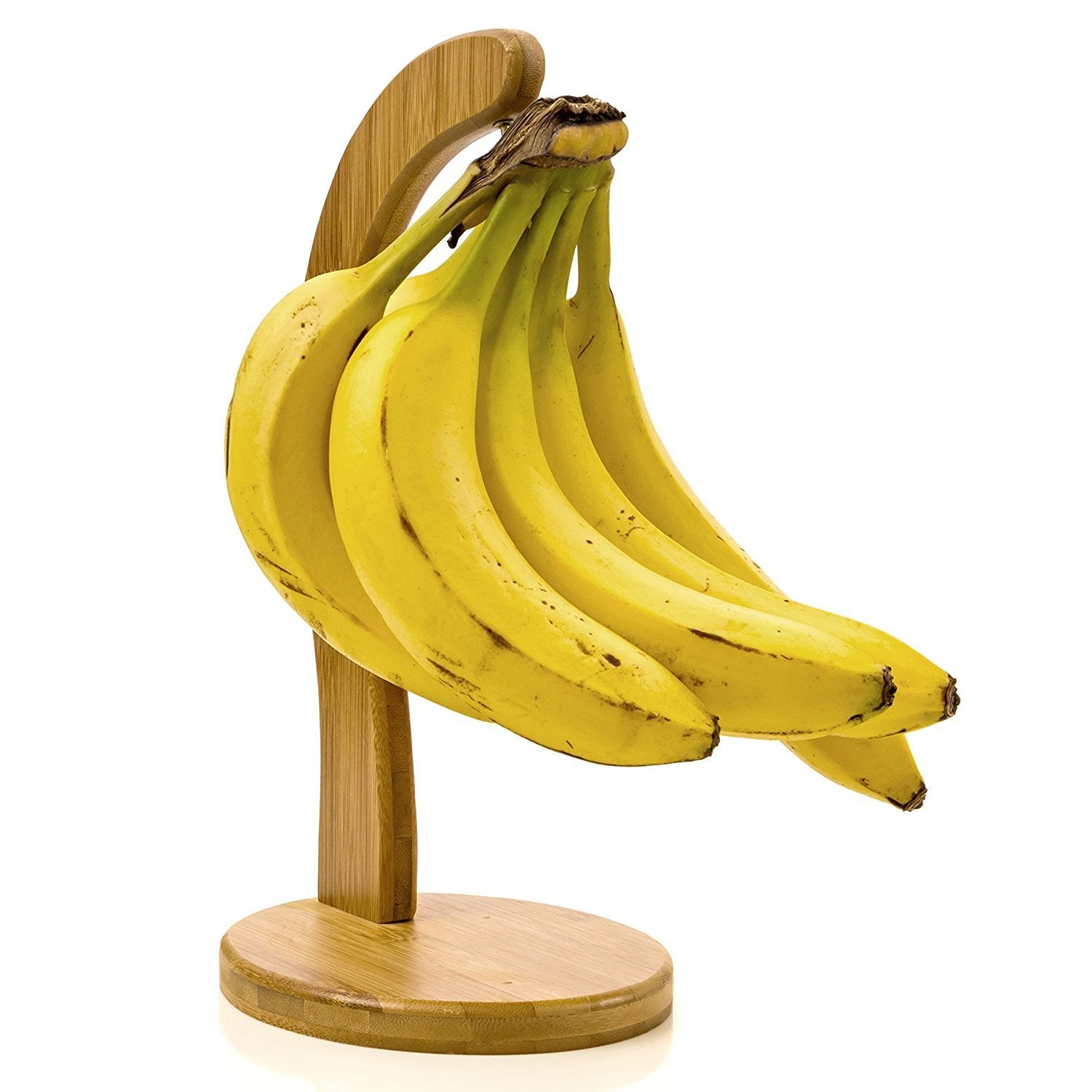 Banana Hanger Banana Hook-Holder Made of Organic Bamboo By Intriom Bamboo Collection