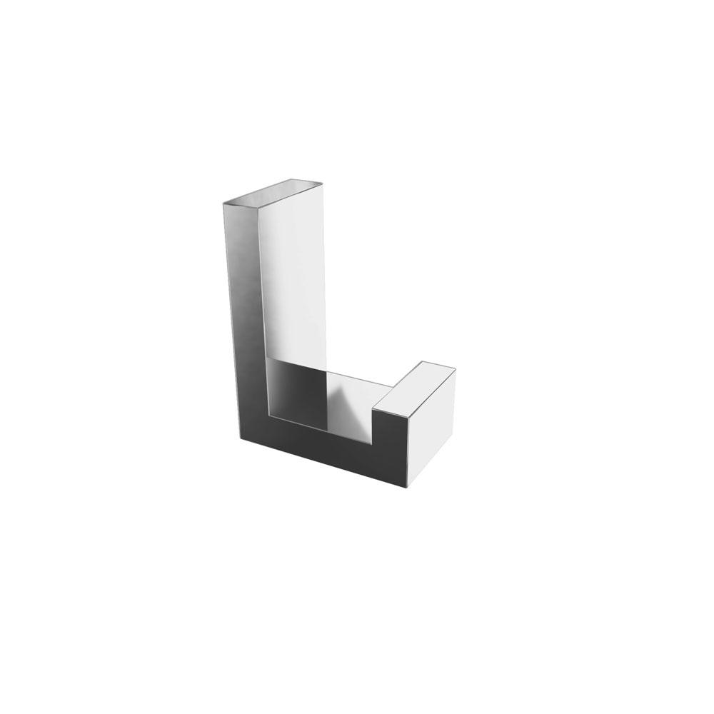 Fire Towel Hook, Chrome, Volkano Series