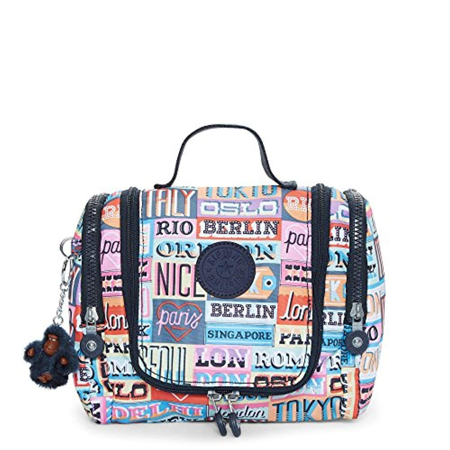 Kipling Connie Hanging Toiletry Bag - Hello Weekend Print