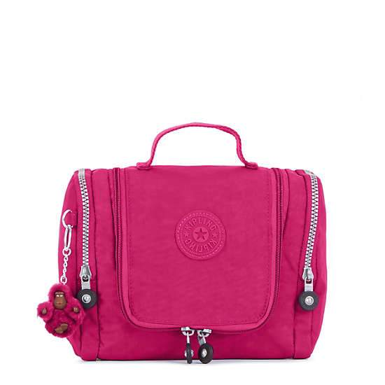 Kipling Connie Hanging Toiletry Bag - Very Berry