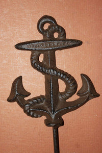 1 piece) Rustic look anchor home decor, free shipping, 6 3/4 inch anchor coat hook, anchor hat hook, anchor towel hook, N-48~