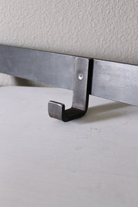 metal wall mounted hook rack