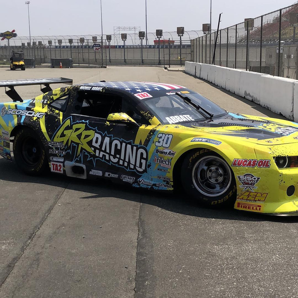 Michele Abbate Heads To Auto Club Speedway