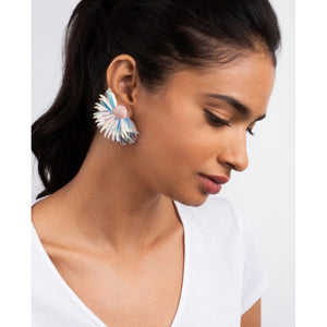 Olivia Dar Marguerite Earrings Large