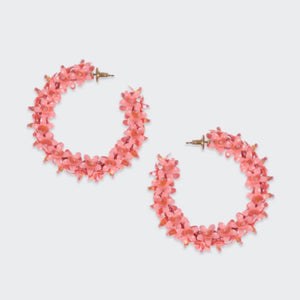 Flower Hoops Large