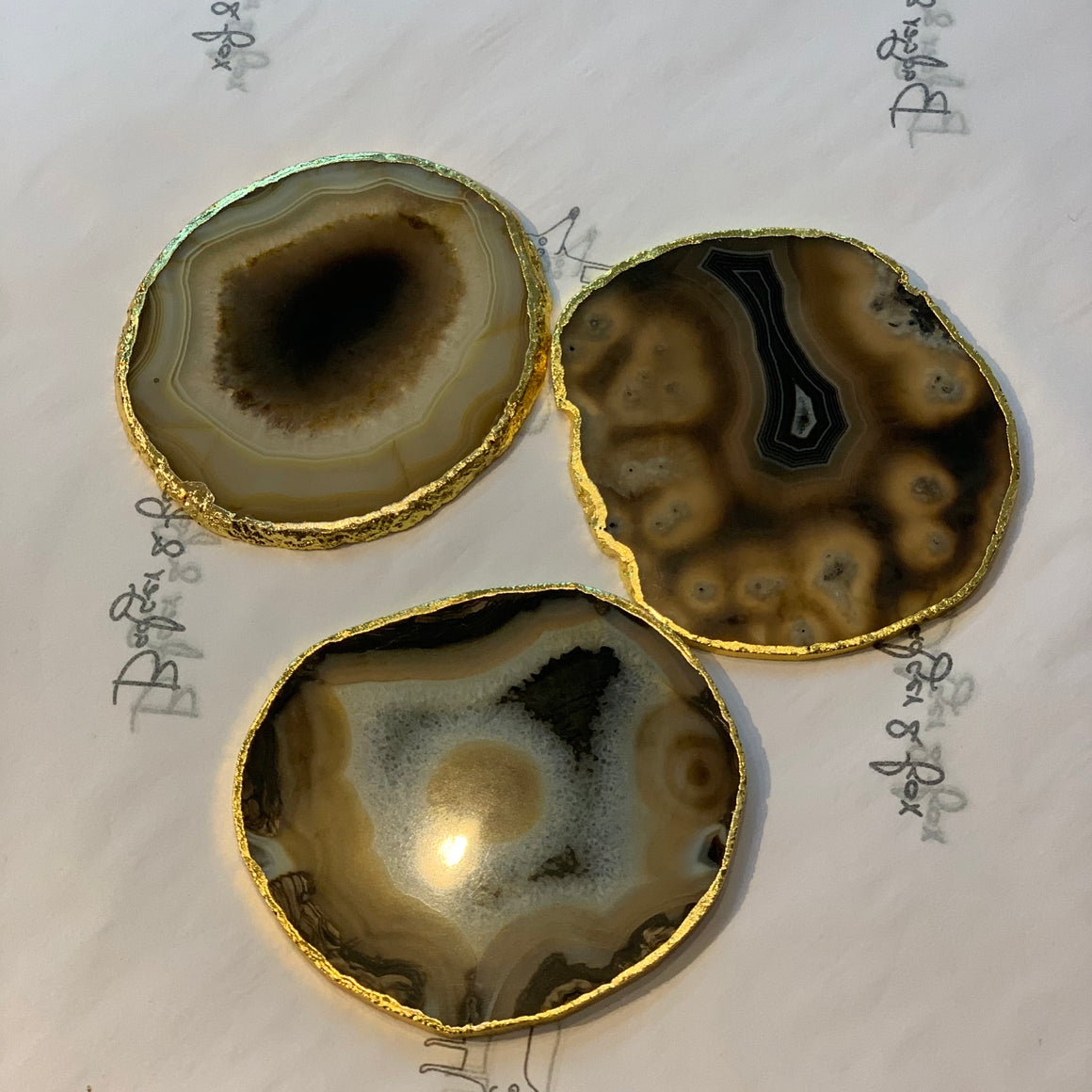 Agate Coasters - Price per piece