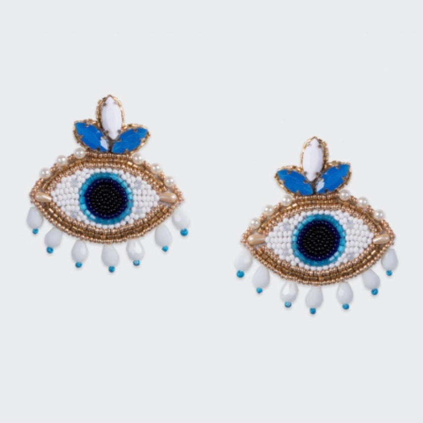 Naxos Earrings - Olivia Dar