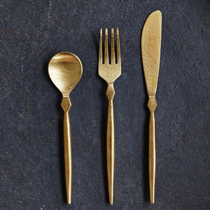 Stainless Steel Cutlery - Boxed 3 PCS