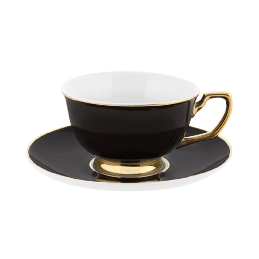 Tea Cup and Saucer - Various Colors