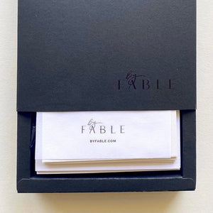 By Fable Note Cards - set of 8