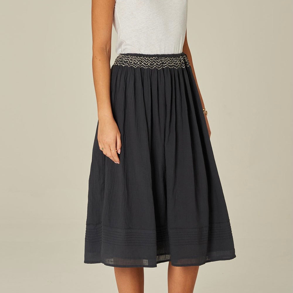 Suri Skirt - Faded Black