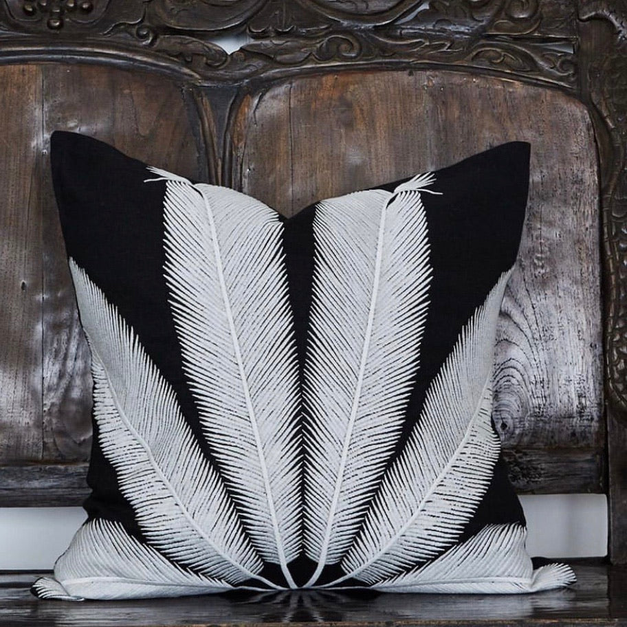 Palmyra Cushion - White
