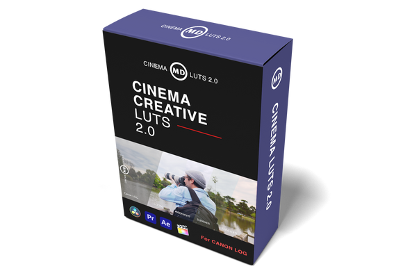 CINEMA LUTS 2.0 - CLOG CREATIVE LUTS - 7 PACK .cube