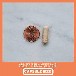 GUT REACTION (Capsule Version) -Probiotic Advanced Formula  (45 Day Supply/ .64 Cent A Day) CLICK HERE