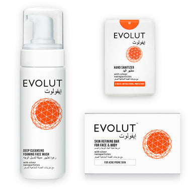 EVOLUT FAMILY KIT (SOAP, FOAM & 3 SANITIZERS)