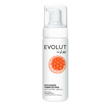 EVOLUT DEEP CLEANSING FOAM FACE WASH