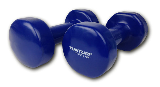 Vinyl Dumbbells in Color Coded Weights