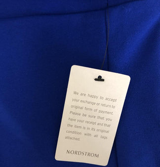 Retail return tag Nordstrom prevent wear and return wardrobing 360 ID Tag