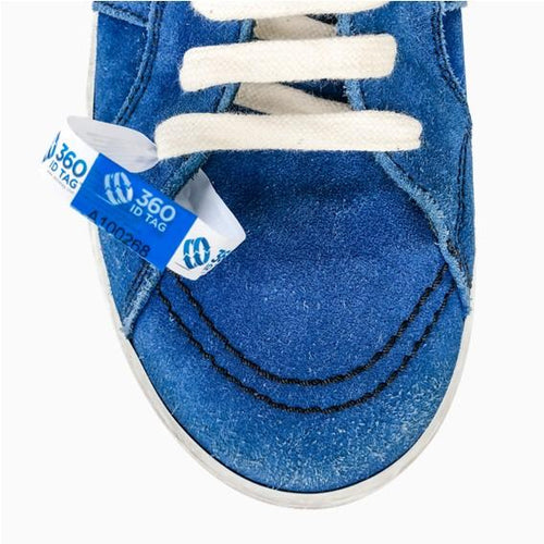 Shoe return tag to prevent return fraud prevent wear and return 360 ID Tag