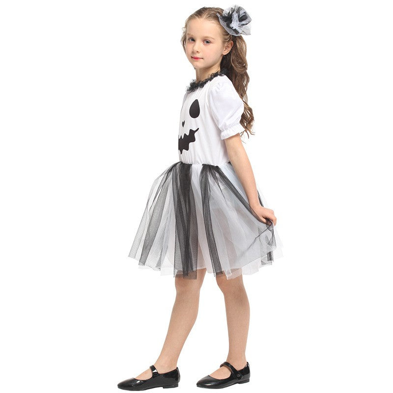 Prankish Ghost girl costume -Dress-Halloween