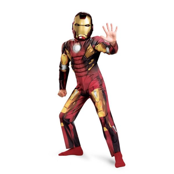 AJ Costumes Characters Costumes-iron man - For Boys 103