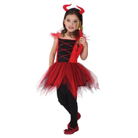 AJ Costumes -LOVELY RED DEVILKIN
