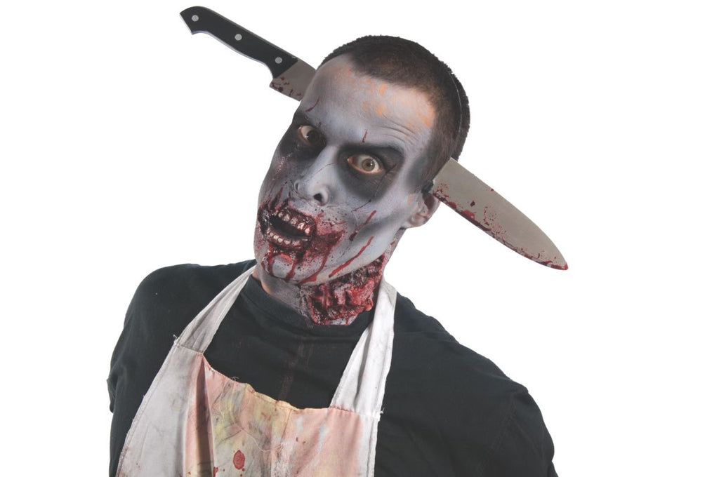 Rubies Costume Zombie Kitchen Knife Thru - Shopzinia Egypt