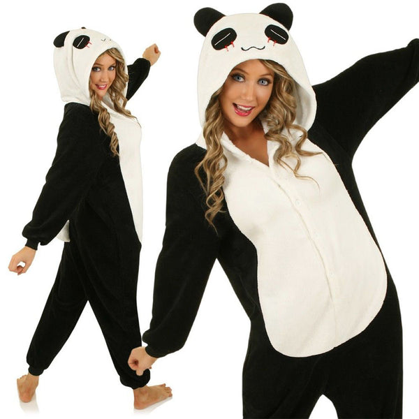 AJ Costumes-Adult Black Panda