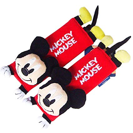 Mickey Mouse Design Multi Use Auto Car seat belt -Aj costumes - Shopzinia Egypt