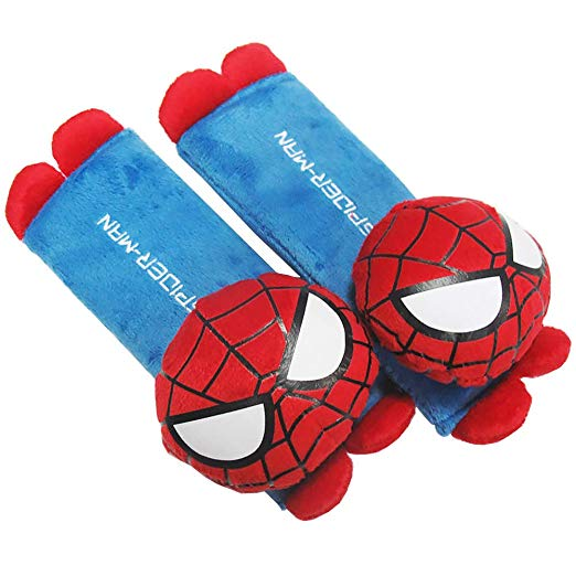 Spider Man Design Multi Use Auto Car seat belt -Aj costumes