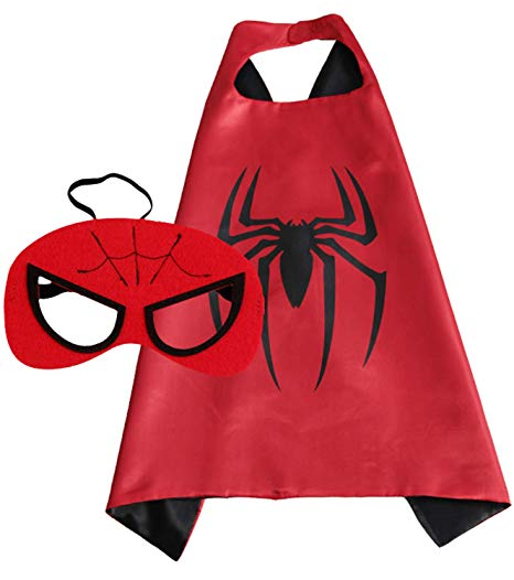 Spider Man Cape and Mask