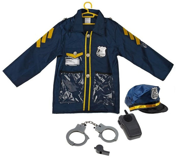 AJ Costumes -POLICE OFFICER-13883