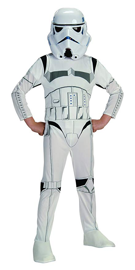 Rubie's costume-AJ Costumes -STAR WARS -WHITE 13893