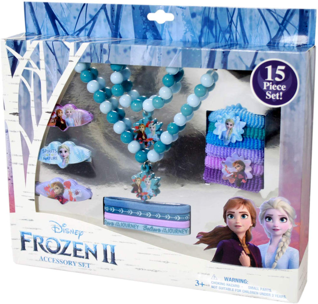 Frozen 2 Girls Dress Up Accessory Gift Set 15pcs