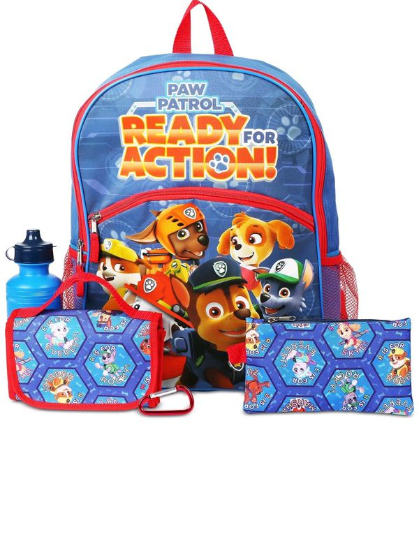 PAW Patrol Backpack & Accessories Set -Aj costumes