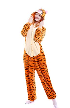 AJ Costumes-Adult Tiger-Orange - Shopzinia Egypt