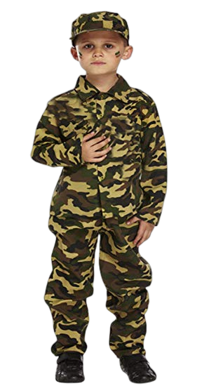 Army Officer Costume - AJ Costumes 105 - Shopzinia Egypt