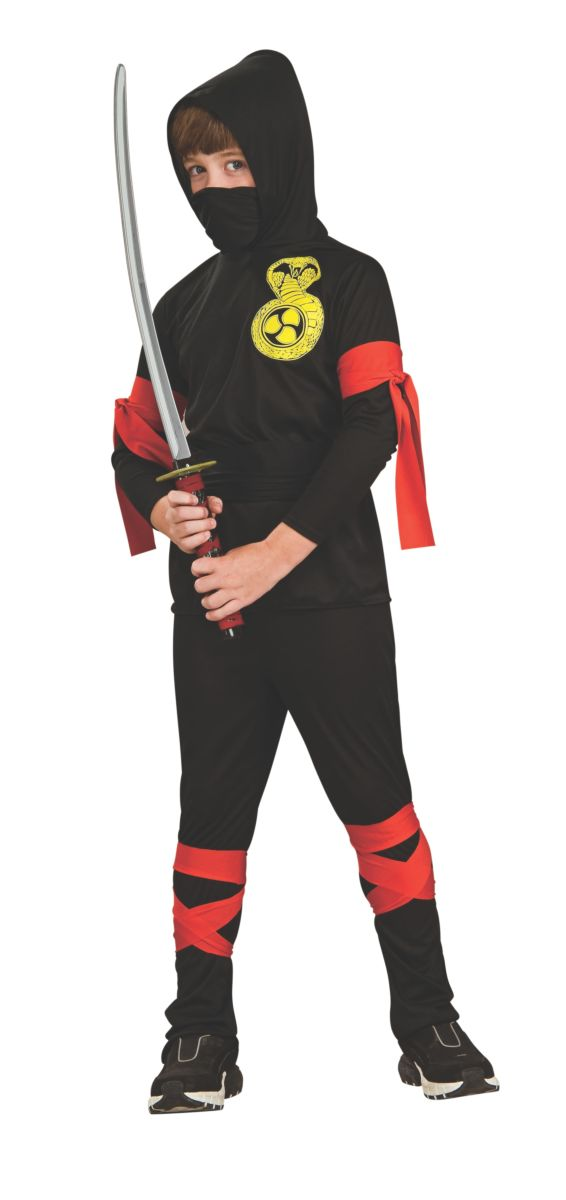 Rubies Costume Black Ninja - Shopzinia Egypt