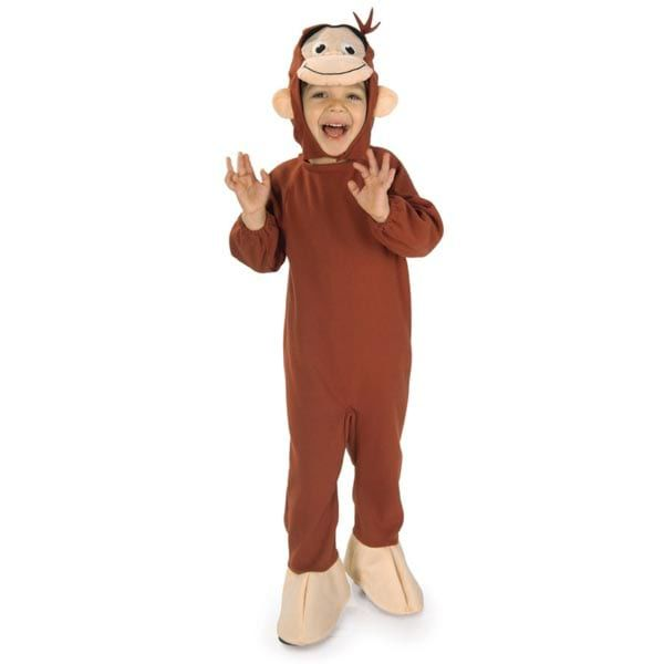 Rubies Costume Curious George - Shopzinia Egypt